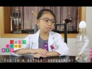 Egg in a Bottle Experiment | Full-Time Kid | PBS Parents